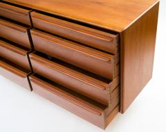 Svend Madsen Svend Aage Madsen Eight Drawer Bureau Dresser in Teak - 313994
