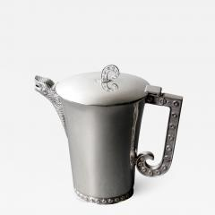 Tane Orfebres Rare and Stunning Sterling Silver Pitcher by Tane Orfebres - 575096
