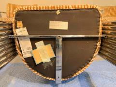 Thayer Coggin Exceptional Set of 4 Milo Baughman for Thayer Coggin Chrome Barrel Dining Chairs - 1826217