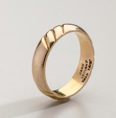 The Kalo Shop American Arts Crafts Kalo Gold Band - 291888