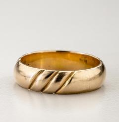 The Kalo Shop American Arts Crafts Kalo Gold Band - 291891