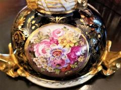 The Royal Crown Derby Porcelain Co 19th Century Derby Porcelain Lidded Centerpiece - 1710658