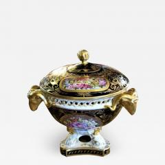 The Royal Crown Derby Porcelain Co 19th Century Derby Porcelain Lidded Centerpiece - 1711469