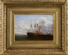 Thistlethwaite Americana Xanthus Russell Smith New Ironsides at the Philadelphia Navy Yard c 1863 - 887239