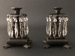Thomas Messenger Sons A Pair of Regency Candlesticks - 1144498
