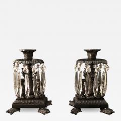 Thomas Messenger Sons A Pair of Regency Candlesticks - 1145393