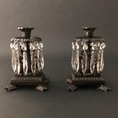 Thomas Messenger Sons A Pair of Regency Candlesticks - 1334272