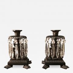 Thomas Messenger Sons A Pair of Regency Candlesticks - 1334871