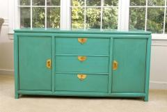 Thomasville Furniture Fabulous Vintage Buffet By Thomasville In Turquoise  Lacquer   104963