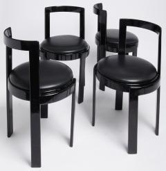 Thonet Barrel Back Chair Set of 4 - 1072663
