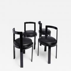 Thonet Barrel Back Chair Set of 4 - 1074352