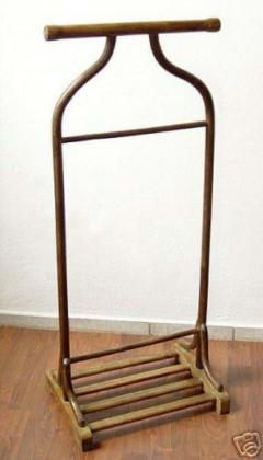 Thonet Early Modern Viennese Secession Valet Coat Stand by Thonet - 1844339