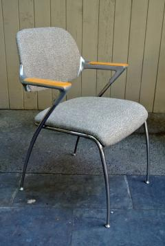 Thonet Four Aluminum and Chrome Thonet Armchairs from the Bonanza Casino circa 1970 - 570484