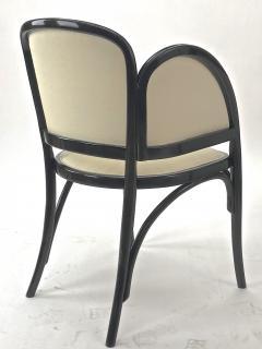 Thonet Maison Thonet rare set of black lacquered bent wood 5 pieces set - 903170