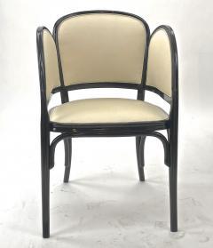 Thonet Maison Thonet rare set of black lacquered bent wood 5 pieces set - 903171
