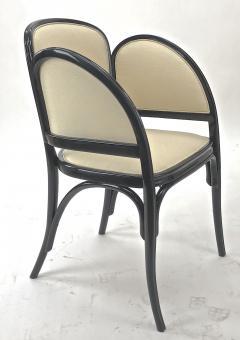 Thonet Maison Thonet rare set of black lacquered bent wood 5 pieces set - 903172
