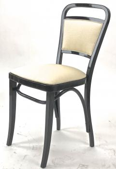 Thonet Maison Thonet rare set of black lacquered bent wood 5 pieces set - 903173