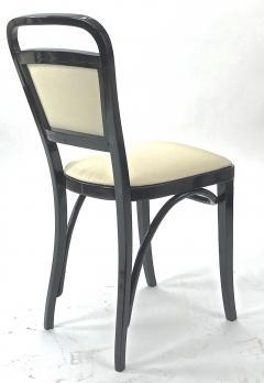 Thonet Maison Thonet rare set of black lacquered bent wood 5 pieces set - 903174