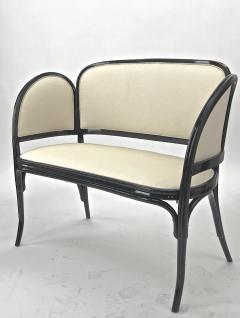 Thonet Maison Thonet rare set of black lacquered bent wood 5 pieces set - 903175