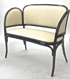 Thonet Maison Thonet rare set of black lacquered bent wood 5 pieces set - 903176