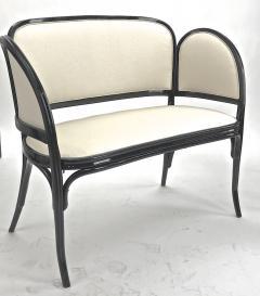 Thonet Maison Thonet rare set of black lacquered bent wood 5 pieces set - 903177