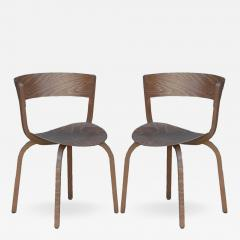 Thonet Pair of 404 F chairs by Stefan Diez for Thonet - 974899