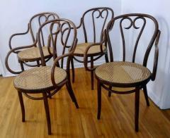 Thonet Set of Four Thonet ZPM Radomsko Bentwood Chairs - 1684643