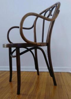 Thonet Set of Four Thonet ZPM Radomsko Bentwood Chairs - 1684646