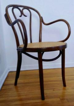 Thonet Set of Four Thonet ZPM Radomsko Bentwood Chairs - 1684647
