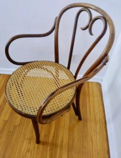 Thonet Set of Four Thonet ZPM Radomsko Bentwood Chairs - 1684656