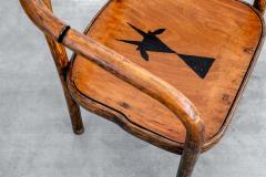 Thonet THONET ARMCHAIRS WITH RAM INLAY SEAT - 1842904