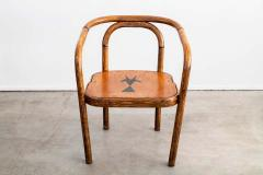 Thonet THONET ARMCHAIRS WITH RAM INLAY SEAT - 1842905