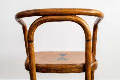 Thonet THONET ARMCHAIRS WITH RAM INLAY SEAT - 1842907