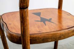 Thonet THONET ARMCHAIRS WITH RAM INLAY SEAT - 1842908