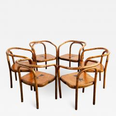 Thonet THONET ARMCHAIRS WITH RAM INLAY SEAT - 1845710