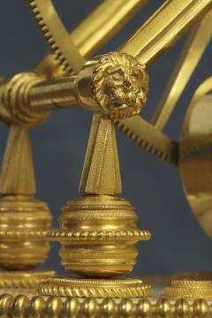 Thwaites c 1800 French Quarter Chiming Marble Ormolu and Ebonized Skeleton Clock - 1184096