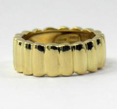 Tiffany Co Gold Tiffany Lozenge Band - 78610