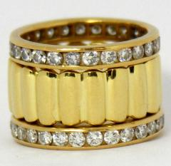Tiffany Co Gold Tiffany Lozenge Band - 78612