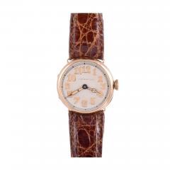 Tiffany Co Longines for Tiffany Co Art Deco 18K Wrist Watch - 2064998