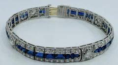 Tiffany Co Platinum Tiffany Art Deco Bracelet - 1775611