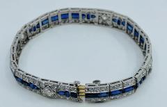Tiffany Co Platinum Tiffany Art Deco Bracelet - 1775612