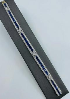 Tiffany Co Platinum Tiffany Art Deco Bracelet - 1775613