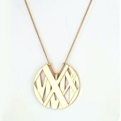 Tiffany Co TIFFANY CO 18K YELLOW GOLD ATLAS LARGE MODEL NECKLACE - 2029619