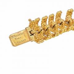 Tiffany Co TIFFANY CO 18K YELLOW GOLD TURQUOISE VINTAGE BRACELET - 1977205