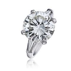 Tiffany Co TIFFANY CO 7 CARAT ROUND DIAMOND I VS2 GIA RING - 1797248