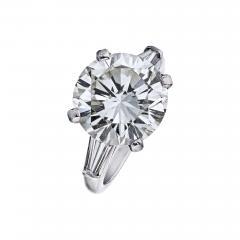 Tiffany Co TIFFANY CO 7 CARAT ROUND DIAMOND I VS2 GIA RING - 1798619