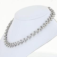 Tiffany Co TIFFANY CO PLATINUM 20 CARAT DIAMOND NECKLACE - 1755587