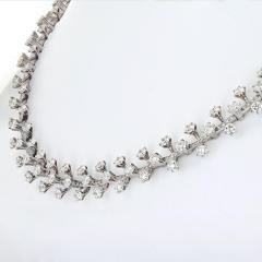 Tiffany Co TIFFANY CO PLATINUM 20 CARAT DIAMOND NECKLACE - 1755588