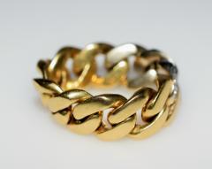 Tiffany Co Tiffany Chain Ring - 438609