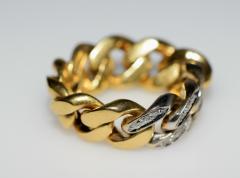 Tiffany Co Tiffany Chain Ring - 438612